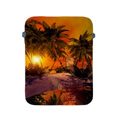 Wonderful Sunset In  A Fantasy World Apple iPad 2/3/4 Protective Soft Cases