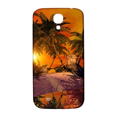 Wonderful Sunset In  A Fantasy World Samsung Galaxy S4 I9500/I9505  Hardshell Back Case