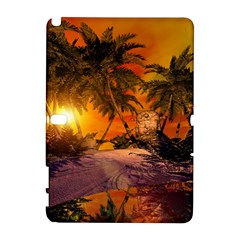 Wonderful Sunset In  A Fantasy World Samsung Galaxy Note 10.1 (P600) Hardshell Case