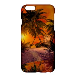 Wonderful Sunset In  A Fantasy World Apple iPhone 6 Plus/6S Plus Hardshell Case