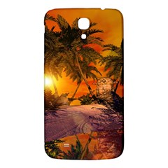 Wonderful Sunset In  A Fantasy World Samsung Galaxy Mega I9200 Hardshell Back Case