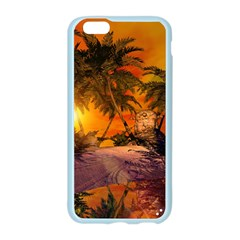 Wonderful Sunset In  A Fantasy World Apple Seamless iPhone 6/6S Case (Color)