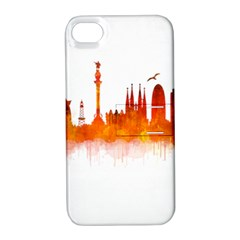 Barcelona 02 Apple iPhone 4/4S Hardshell Case with Stand