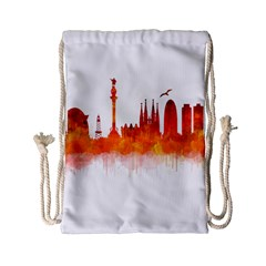 Barcelona 02 Drawstring Bag (Small)