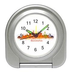 Barcelona City Art Travel Alarm Clocks