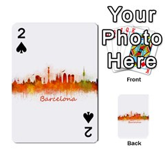 Barcelona City Art Playing Cards 54 Designs