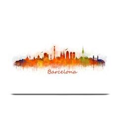 Barcelona City Art Plate Mats