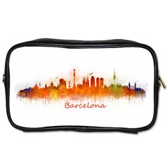 Barcelona City Art Toiletries Bags 2-Side