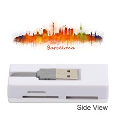 Barcelona City Art Memory Card Reader (Stick)