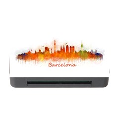 Barcelona City Art Memory Card Reader with CF