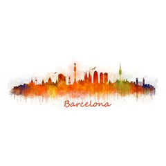 Barcelona City Art YOU ARE INVITED 3D Greeting Card (8x4)