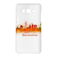 Barcelona City Art Samsung Galaxy A5 Hardshell Case