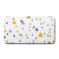 Pastel Random Triangles Modern Pattern Medium Bar Mats