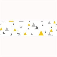 Pastel Random Triangles Modern Pattern Large Bar Mats