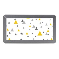 Pastel Random Triangles Modern Pattern Memory Card Reader (Mini)