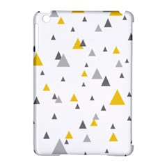 Pastel Random Triangles Modern Pattern Apple iPad Mini Hardshell Case (Compatible with Smart Cover)