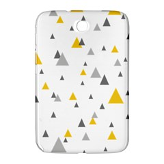 Pastel Random Triangles Modern Pattern Samsung Galaxy Note 8 0 N5100 Hardshell Case