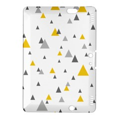 Pastel Random Triangles Modern Pattern Kindle Fire HDX 8.9  Hardshell Case