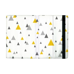 Pastel Random Triangles Modern Pattern iPad Mini 2 Flip Cases