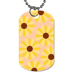Sunflowers Everywhere Dog Tag (one Side)