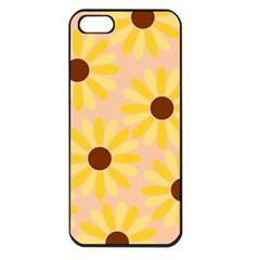 Sunflowers Everywhere Apple iPhone 5 Seamless Case (Black)