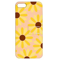 Sunflowers Everywhere Apple iPhone 5 Hardshell Case with Stand