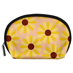 Sunflowers Everywhere Accessory Pouches (Large)