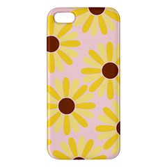 Sunflower iPhone 5S Premium Hardshell Case
