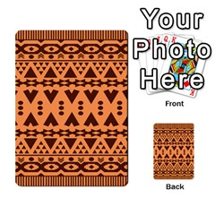 Tribal Print Hippie Pattern  Multi Purpose Cards (rectangle)
