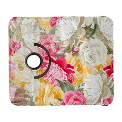 Colorful Floral Collage Samsung Galaxy S  III Flip 360 Case