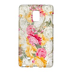Colorful Floral Collage Galaxy Note Edge