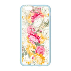 Colorful Floral Collage Apple Seamless iPhone 6/6S Case (Color)