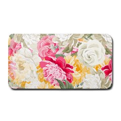 Colorful Floral Collage Medium Bar Mats
