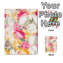 Colorful Floral Collage Multi-purpose Cards (Rectangle)
