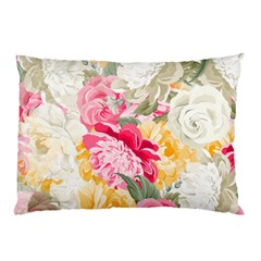 Colorful Floral Collage Pillow Cases