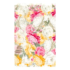 Colorful Floral Collage Shower Curtain 48  x 72  (Small)