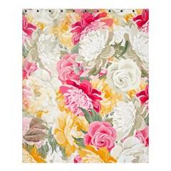 Colorful Floral Collage Shower Curtain 60  X 72  (medium)