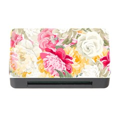 Colorful Floral Collage Memory Card Reader with CF