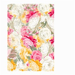 Colorful Floral Collage Small Garden Flag (Two Sides)