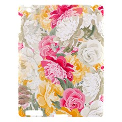 Colorful Floral Collage Apple iPad 3/4 Hardshell Case