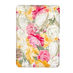 Colorful Floral Collage Samsung Galaxy Tab 2 (10.1 ) P5100 Hardshell Case