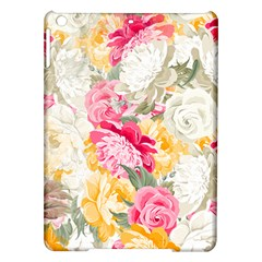 Colorful Floral Collage iPad Air Hardshell Cases