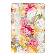 Colorful Floral Collage Samsung Galaxy Tab Pro 10.1 Hardshell Case