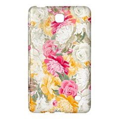 Colorful Floral Collage Samsung Galaxy Tab 4 (7 ) Hardshell Case