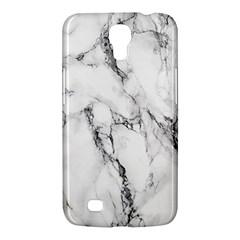White Marble Stone Print Samsung Galaxy Mega 6.3  I9200 Hardshell Case