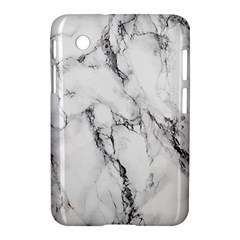 White Marble Stone Print Samsung Galaxy Tab 2 (7 ) P3100 Hardshell Case