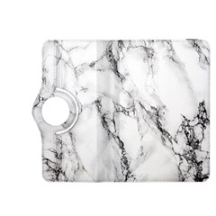 White Marble Stone Print Kindle Fire Hdx 8 9  Flip 360 Case
