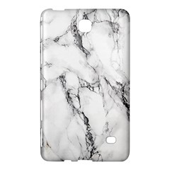 White Marble Stone Print Samsung Galaxy Tab 4 (8 ) Hardshell Case