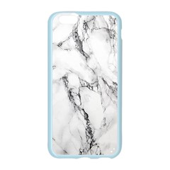 White Marble Stone Print Apple Seamless iPhone 6/6S Case (Color)