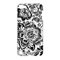 Black Floral Damasks Pattern Baroque Style Apple iPod Touch 5 Hardshell Case